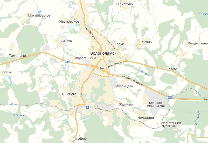 Тахографы в Волоколамске